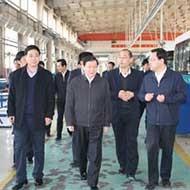 国家商务部到公司调研节能与新能源产品推广情况