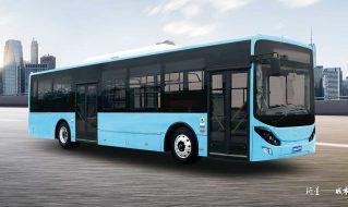 SDL6125EVG3城市客车