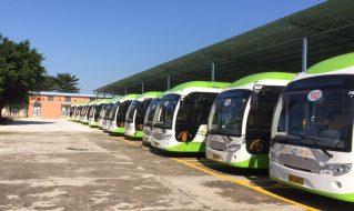 21台沂星纯电动公交车助力肇庆市民绿色出行