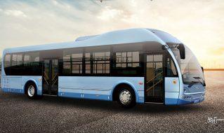 SDL6120EVG8纯电动城市客车