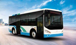 """新品展示丨沂星8米级纯电动客车,为公交""""绿色""""升级而来!"""