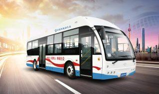 SDL6100EVG6型纯电动城市客车