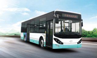 SDL6125EVG5型纯电动城市客车