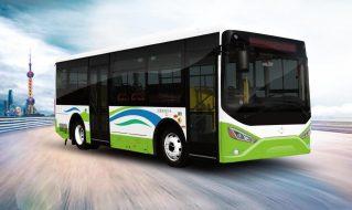SDL6841EVG型纯电动城市客车