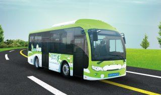 SDL6850EVG型纯电动城市客车