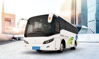 SDL6838EVG型纯电动定制公交