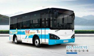 SDL6660EVG纯电动公交车