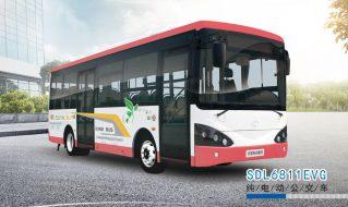 SDL6811EVG纯电动公交车